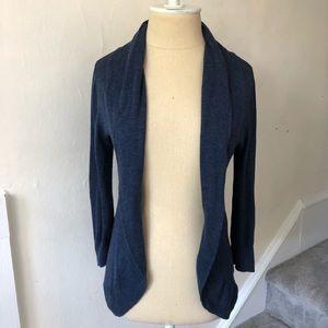 Anthropologie Frenchi 100% Cotton Open Cardigan